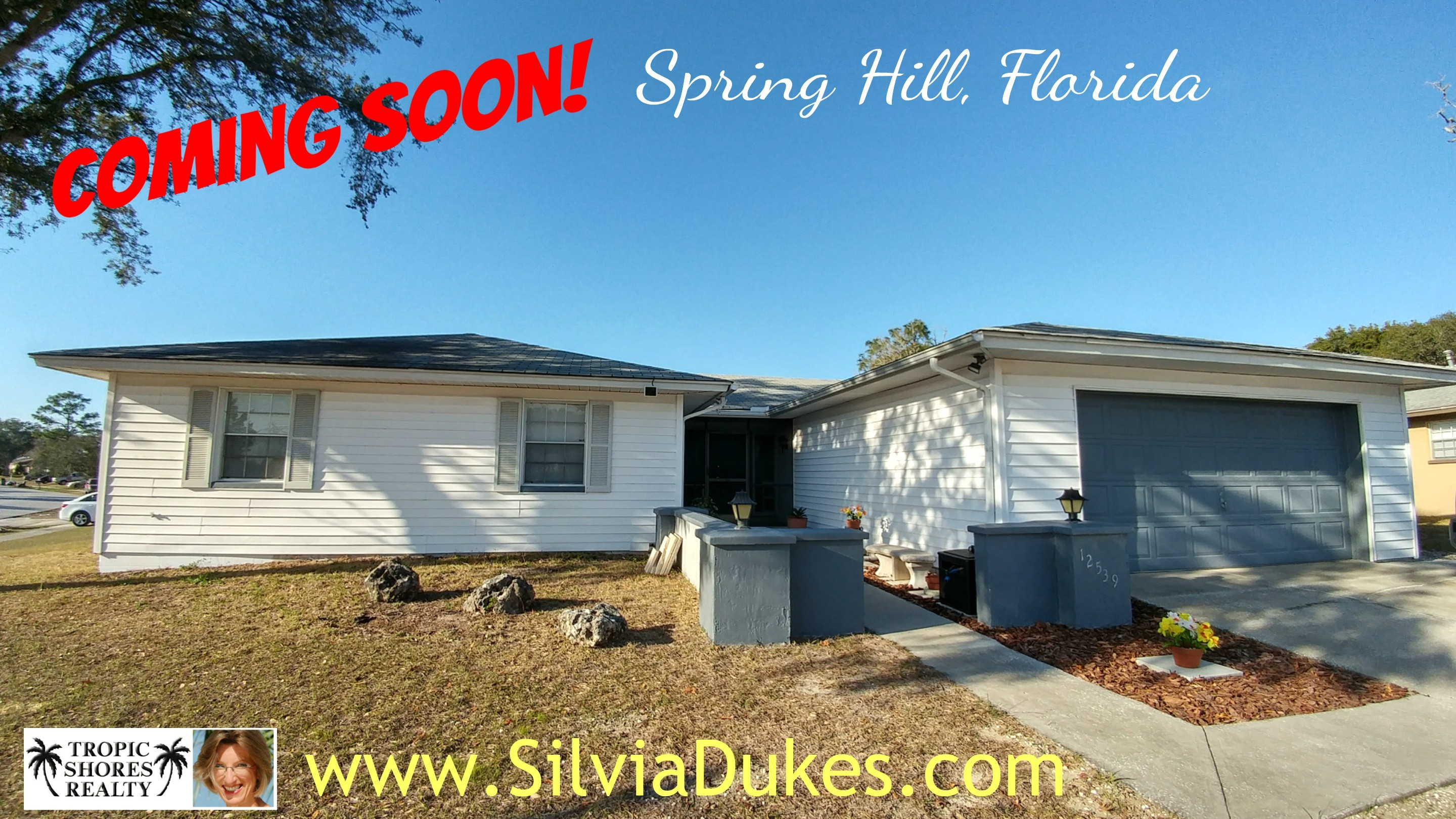 Coming Soon Four Bedroom Pool Home in Spring Hill by Realtor Silvia Dukes