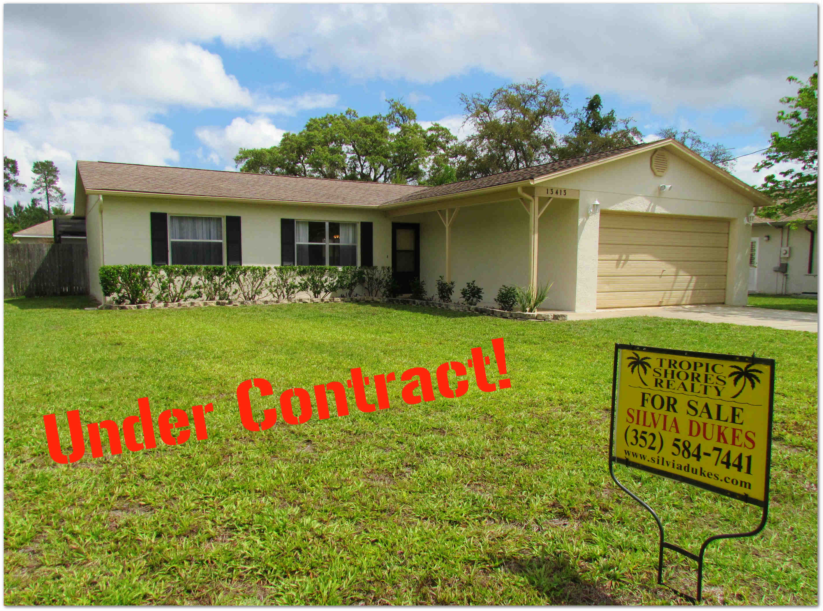 spring hill pool home under 100 000 now under contract