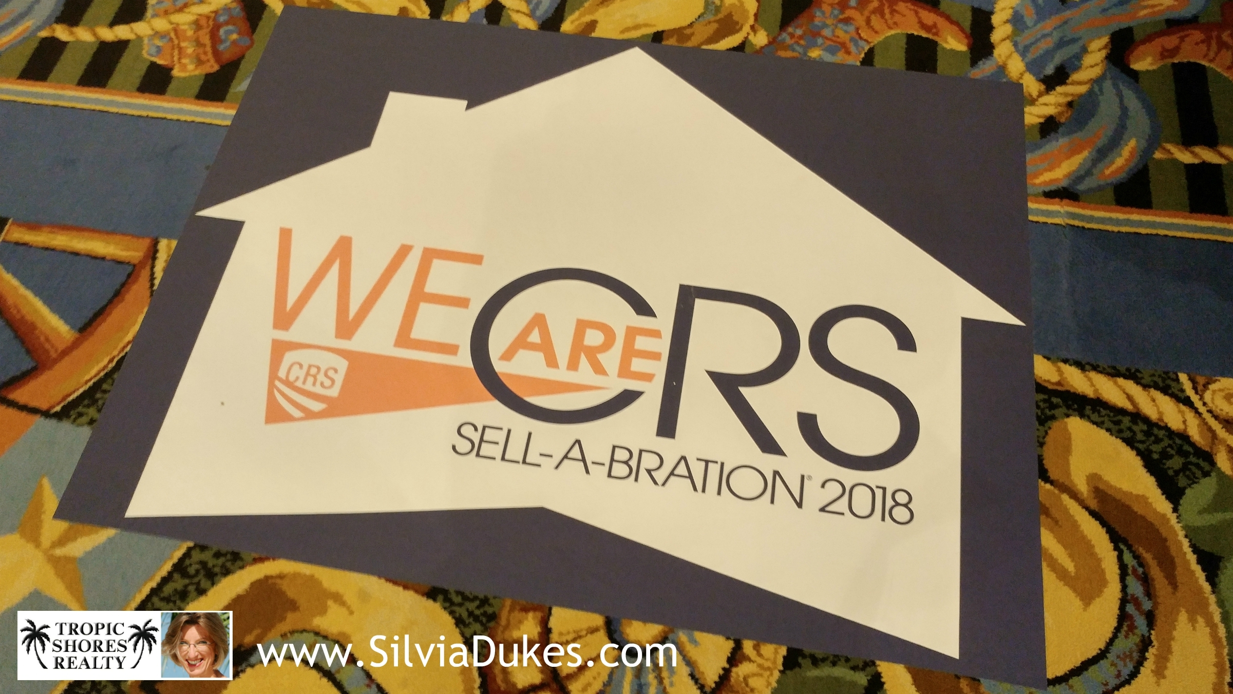 We are CRS Sell-a-Bration 2018 Photo by Silvia Dukes