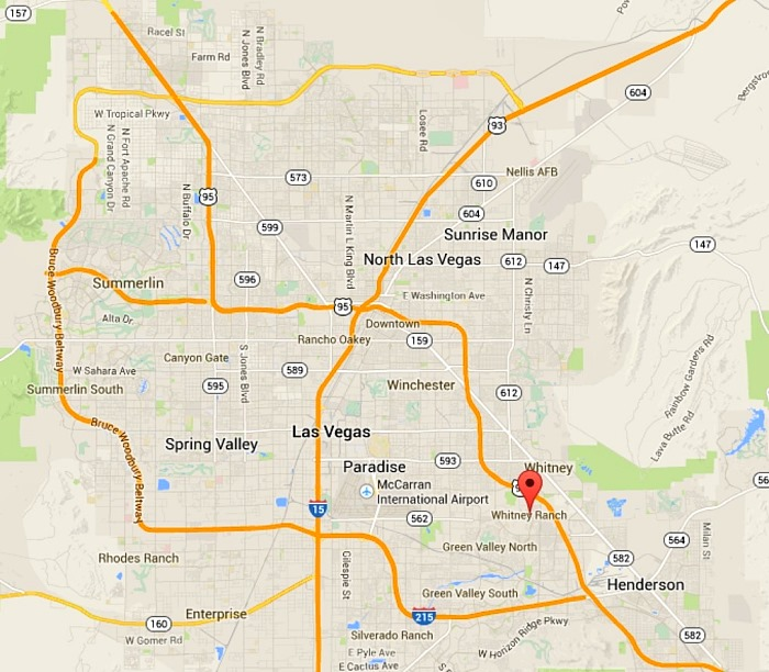 Las Vegas New Homes - DR Horton Whitney Ranch Tour  Whitney