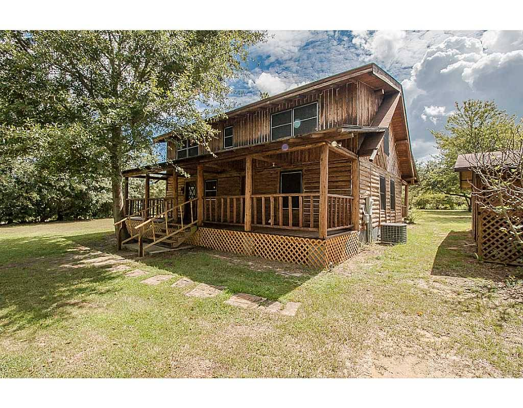 Saucier Ms Real Estate Unique Log Cabin 3 8 Acres Tw