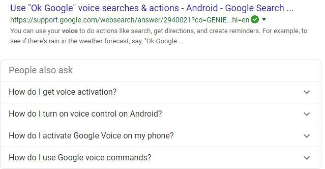 Google Voice for Business Listing