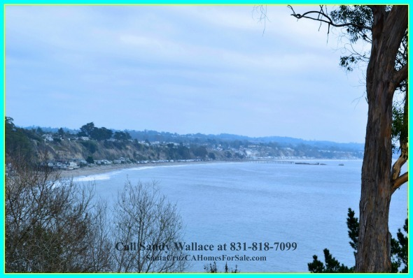 Enjoy the stunning view offered by this beach house for sale in Santa Cruz.