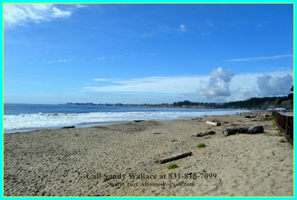The Seacliff State Beach is a quick walk away through this hidden beach access right by your home for sale.