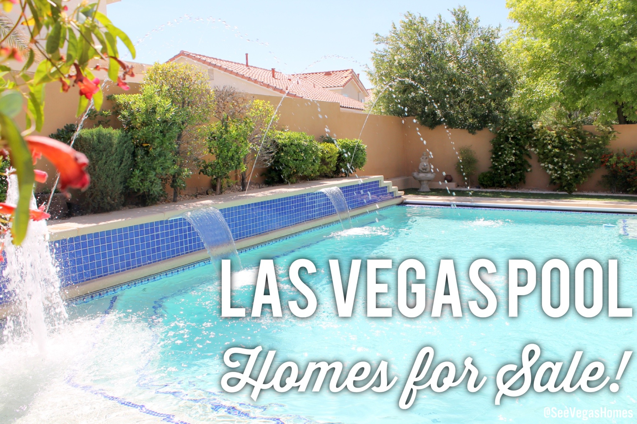 las vegas pool homes for sale