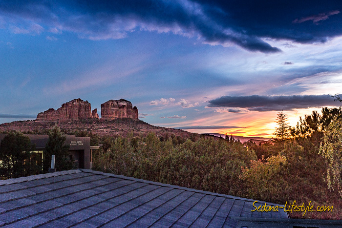 130 Indian Cliffs Rd Sedona AZ 86336 Home for sale - rooftop observation deck views