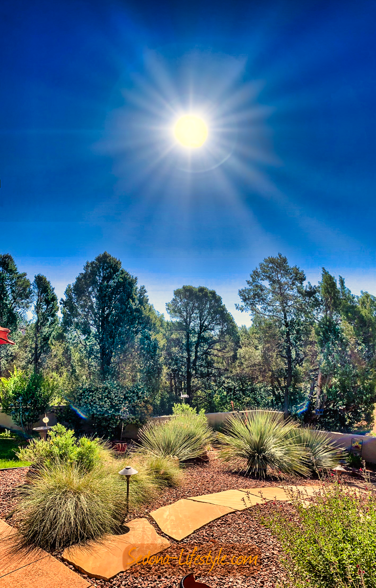 The Many Shades or Shadows of Summer Solstice in Sedona