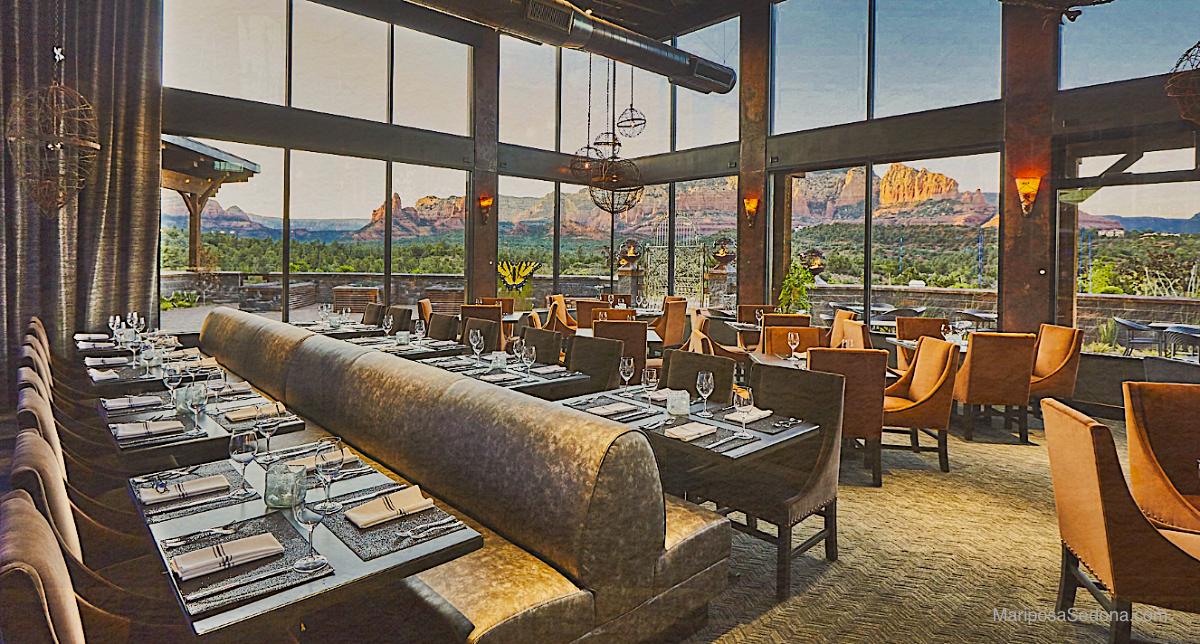 Sedona Mariposa Restaurant Interior