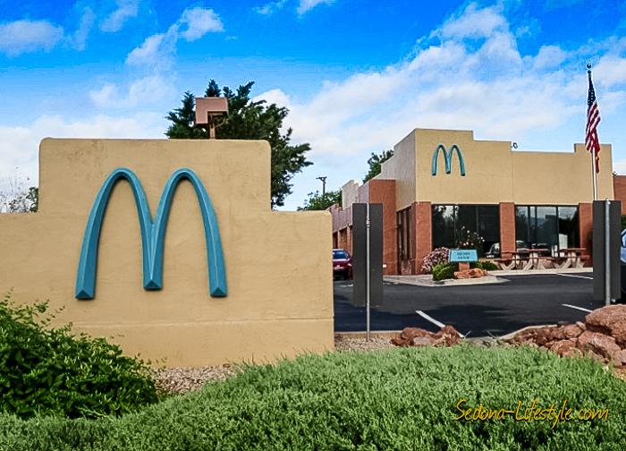 McDonald's Arches Are Not So Golden In Sedona AZ ...Wha
