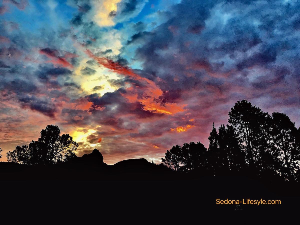 Sedona Monsoon Sunrise