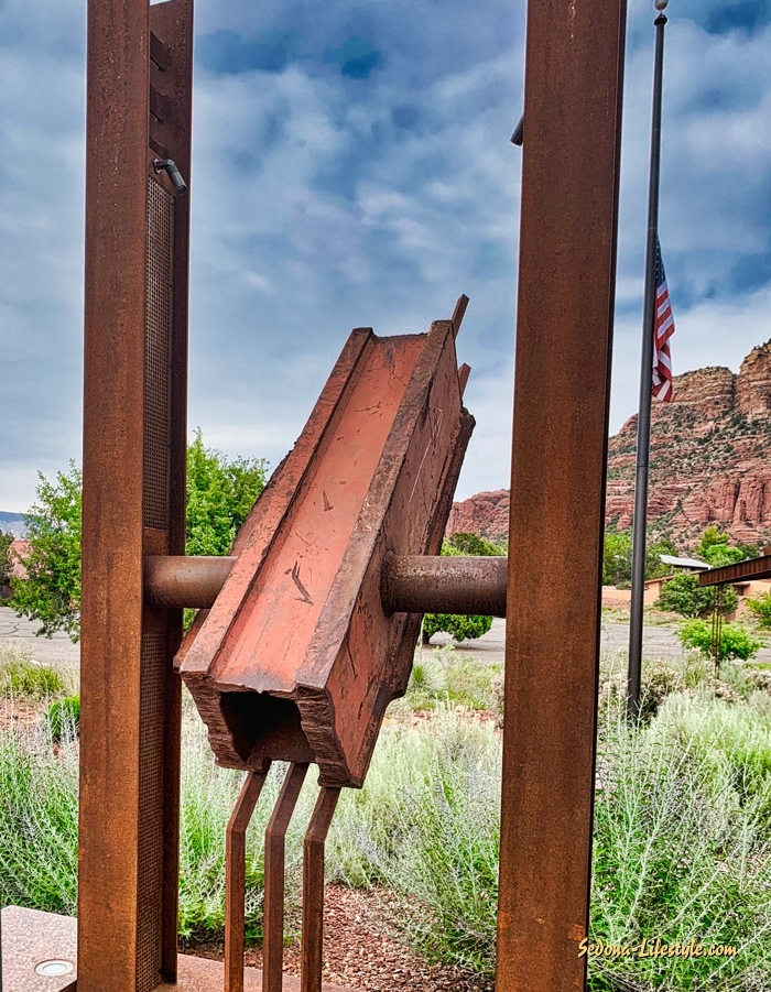911 WTC ground zero artifact Sedona SFD