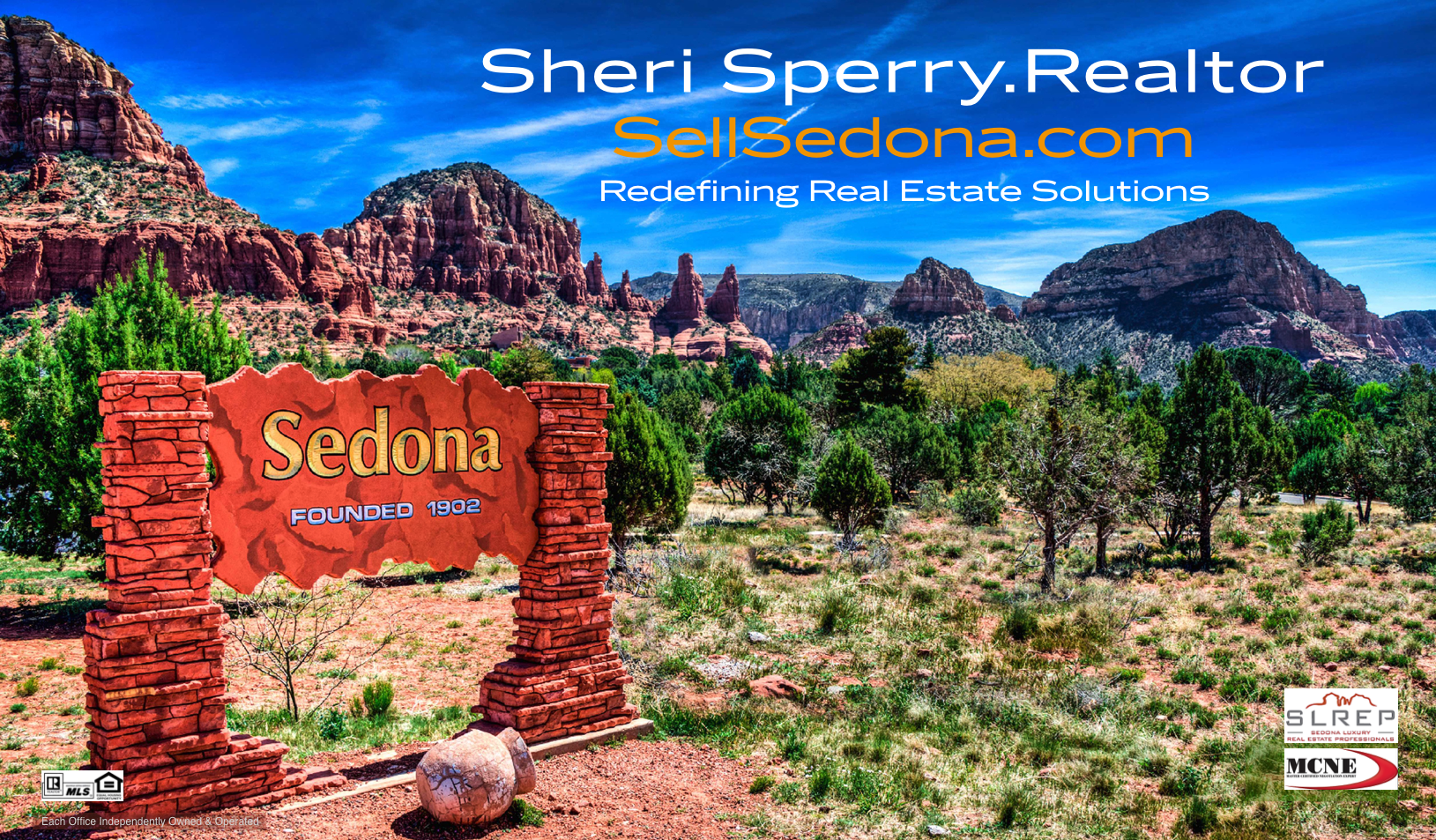 Sheri Sperry ReMax Sedona Realtor Business Card