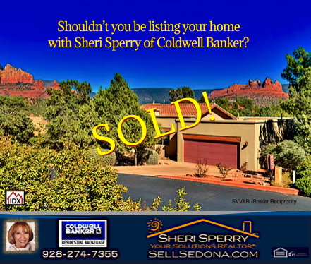 Sold 230 Rolling HIlls Sedona AZ by Sheri Sperry Coldwell Banker Residential Brokerage