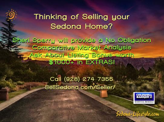 Sedona Seller listing bonus