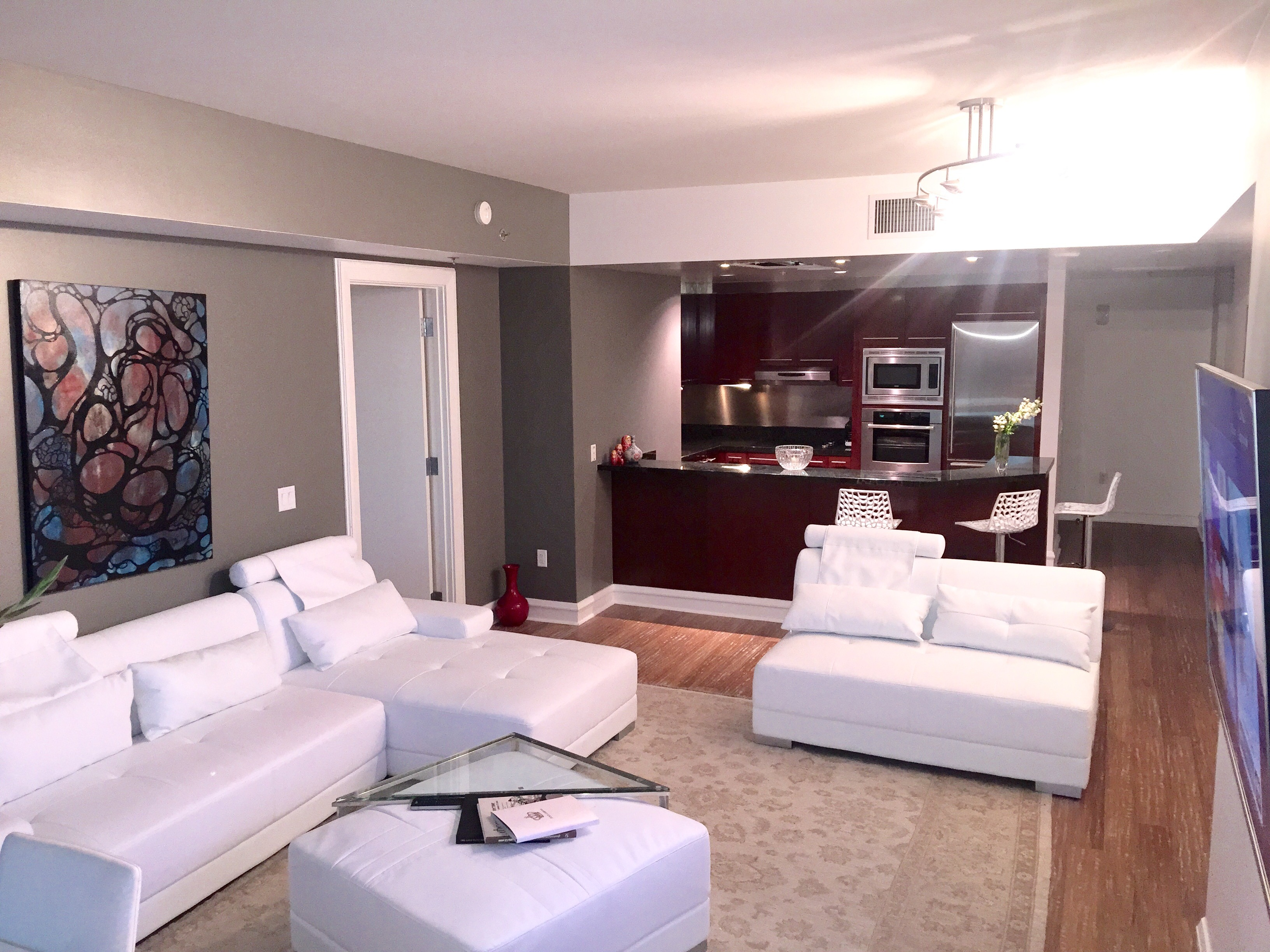 Las Vegas Strip Furnished Luxury Condo For Rent At Sky