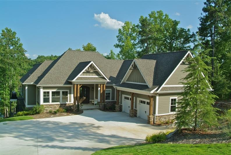 The hemlock can be your lake keowee waterfront home for Lake keowee house plans