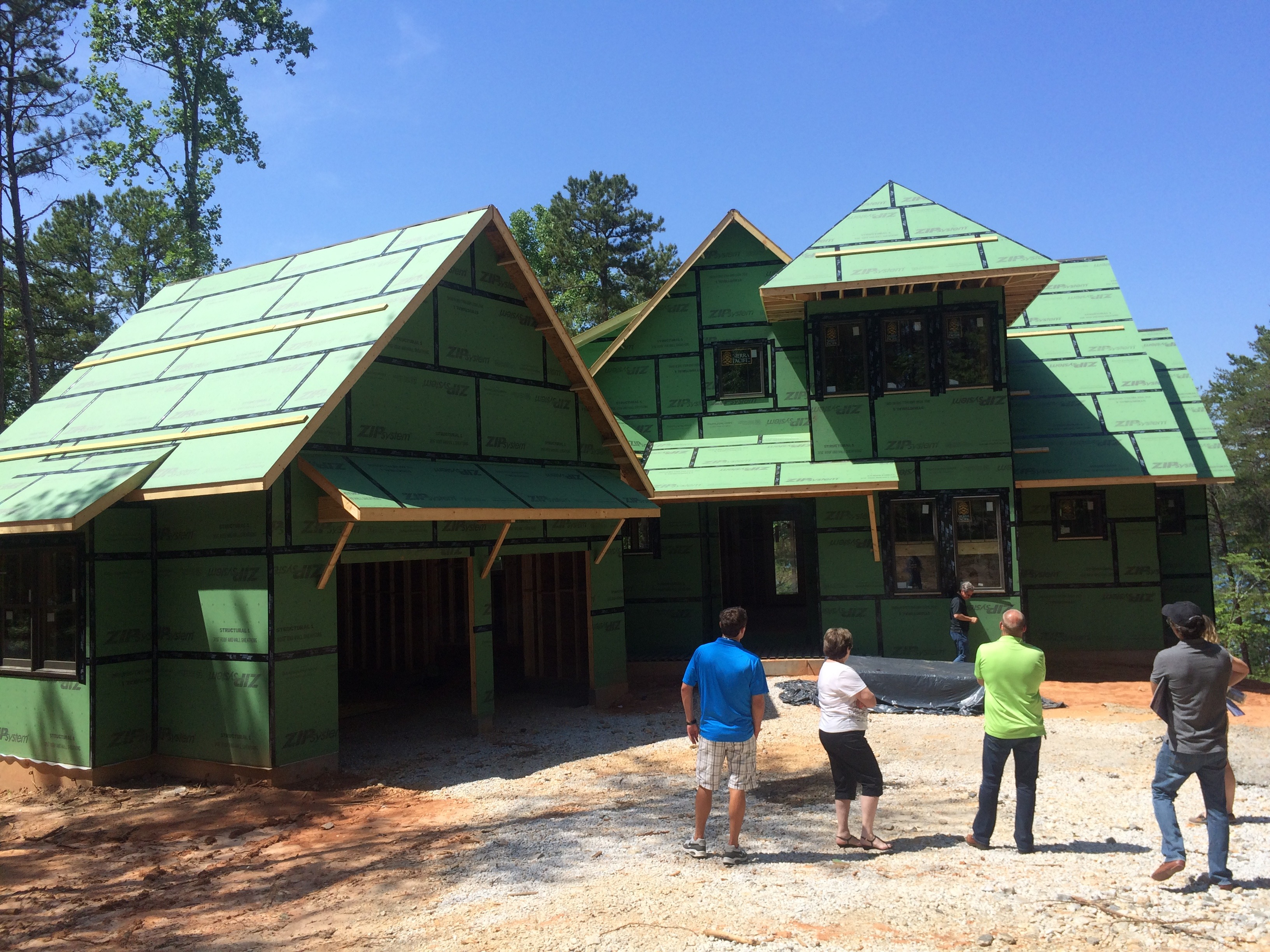 New construction homes on lake keowee waterfront lots for Lake keowee house plans