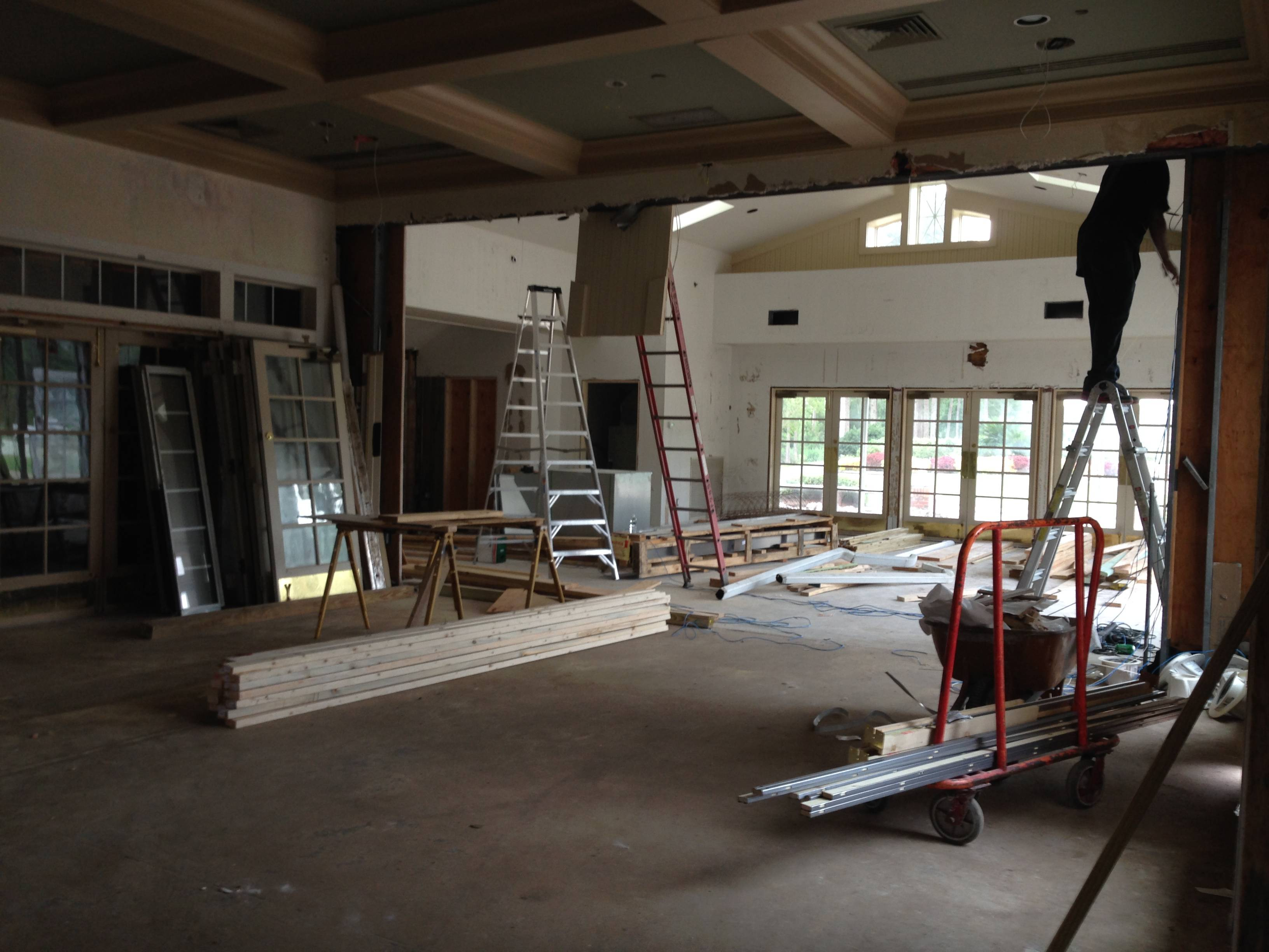 Eagle Harbor Clubhouse Dining Room Renovation