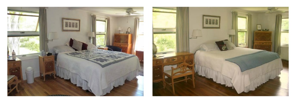 Before After Pictures Of A Budget Friendly Home Stagi