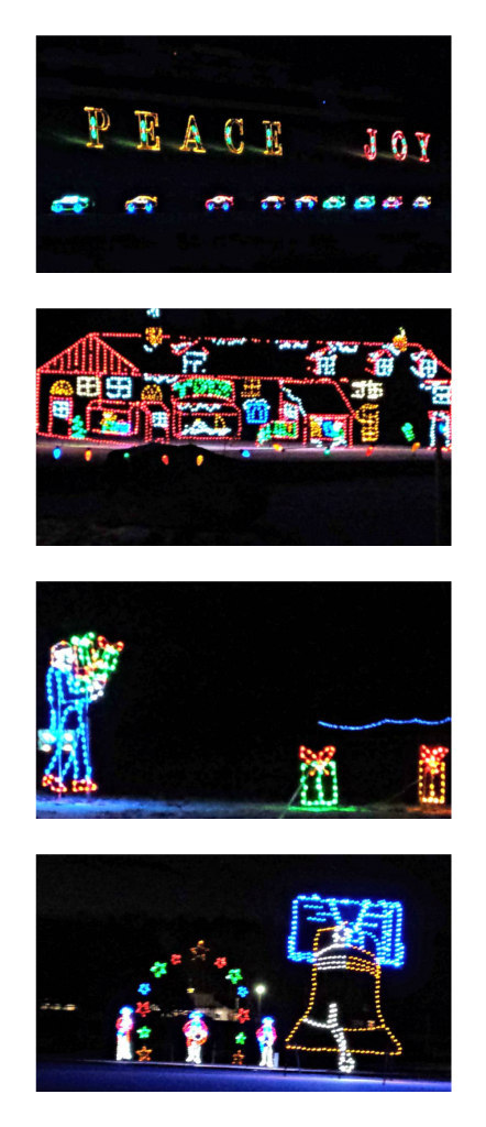 Two great christmas light displays in southern new hamp for New hampshire motor speedway christmas lights