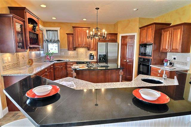 West Lafayette 5 bedroom home for sale granite counters near Purdue Research Park Burnett's Creek