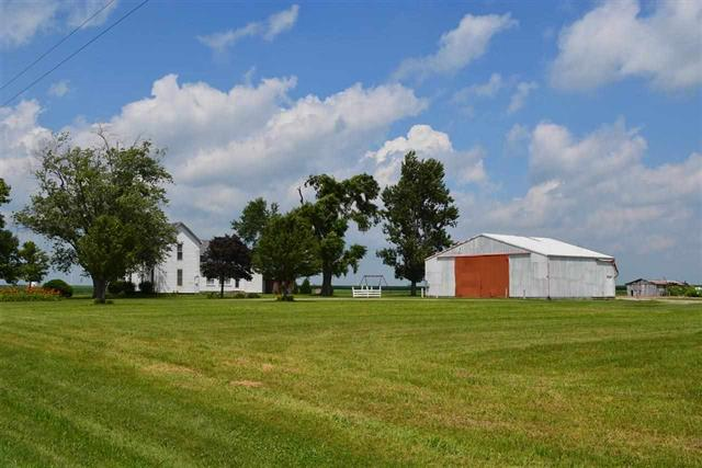 3-4 bedroom farm house for sale with large pole barn 4+ acres Tri-County Schools minutes to West Lafayette