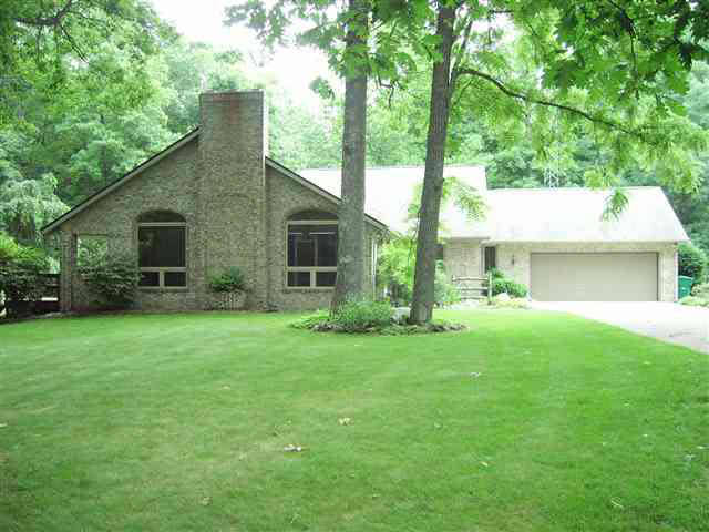 West Lafayette Indiana ranch homes for sale near Purdue with wooded acreage contact Keller Williams agent Sharon Walter Lafayette Indiana