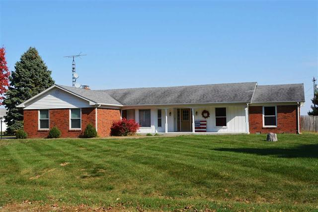 Lafayette Indiana 47905 ranch home 3 bedroom 2 bath with partial basement for sale 30 x 40 foot heated pole barn Hershey Elementary listed by Lafayette Keller Williams real estate agent broker Realtor Sharon Walter.