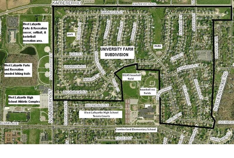 West Lafayette homes for sale University Farm near Purdue Research Park