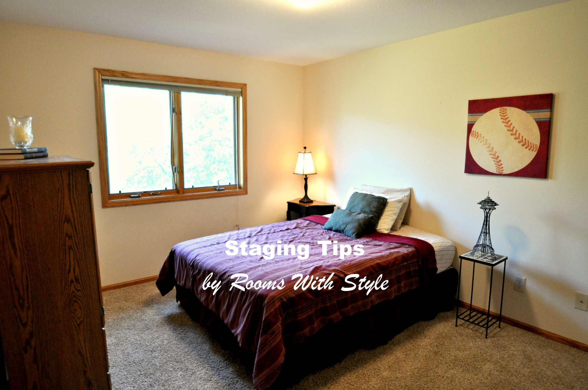 Bedroom After Home Staging
