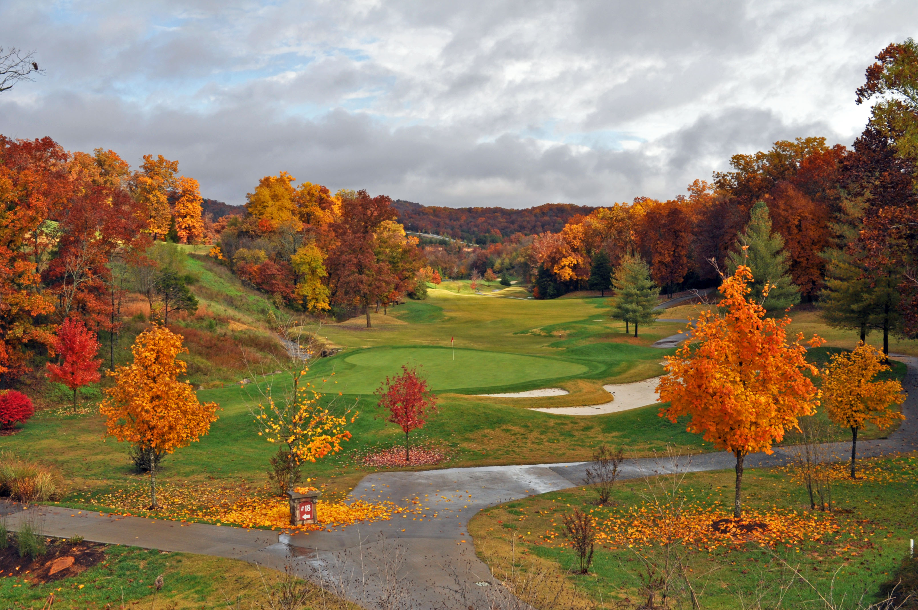 Ledgestone Golf Course #10