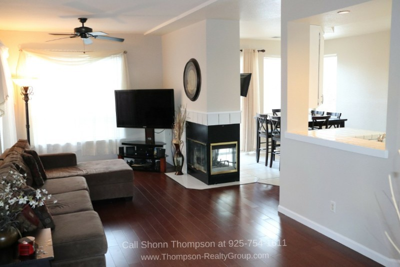 Antioch CA Real Estate Properties for Sale -  Relax and entertain in the bright and inviting living area of this Antioch CA home for sale.