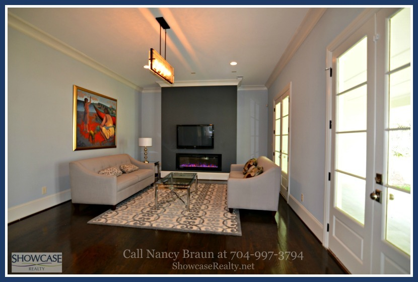 Indulge in the comfort and warmth of the great room of this home for sale in Charlotte NC.