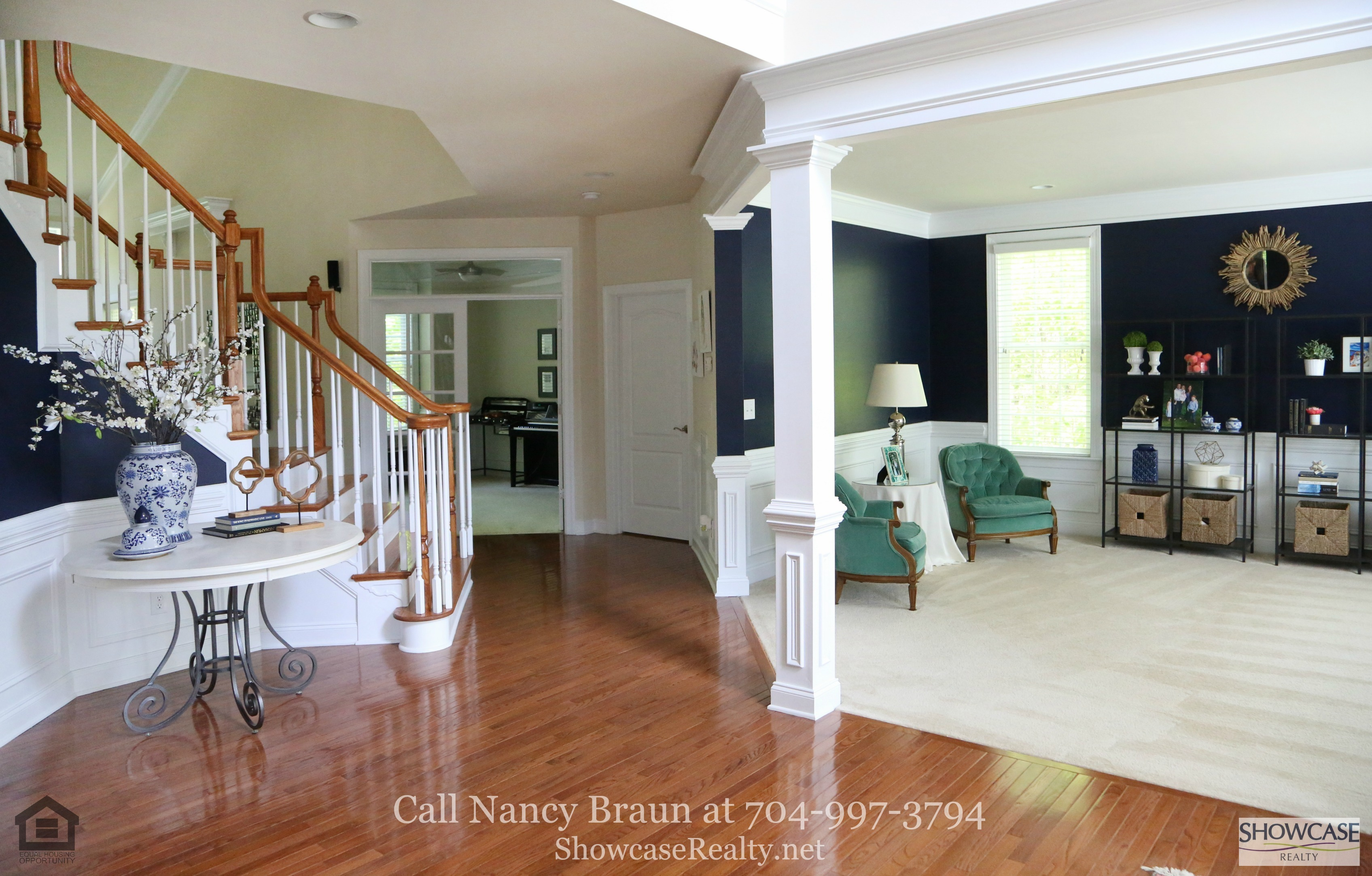 Superieur Weddington NC Homes For Sale   Airy, Bright And Spacious, The Living Room Of