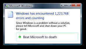 beat microsoft to death error