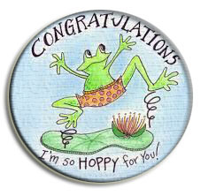 Congrats frog for Katy
