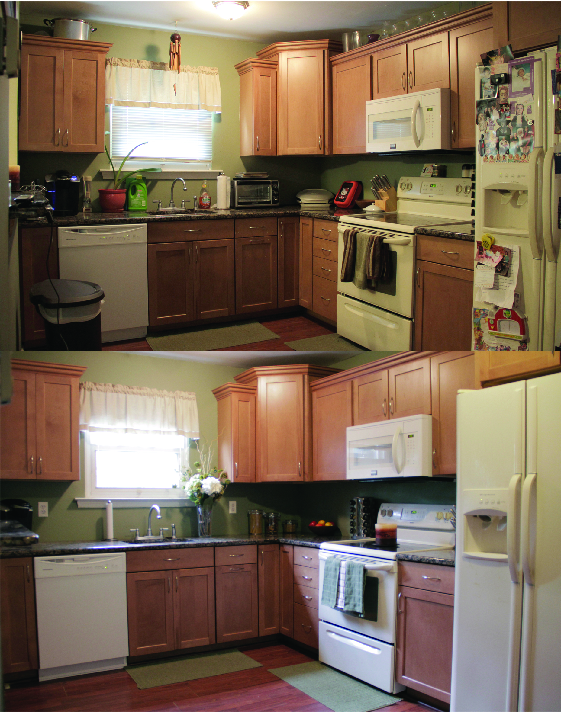 Home staging tips for the kitchen for Kitchen staging ideas
