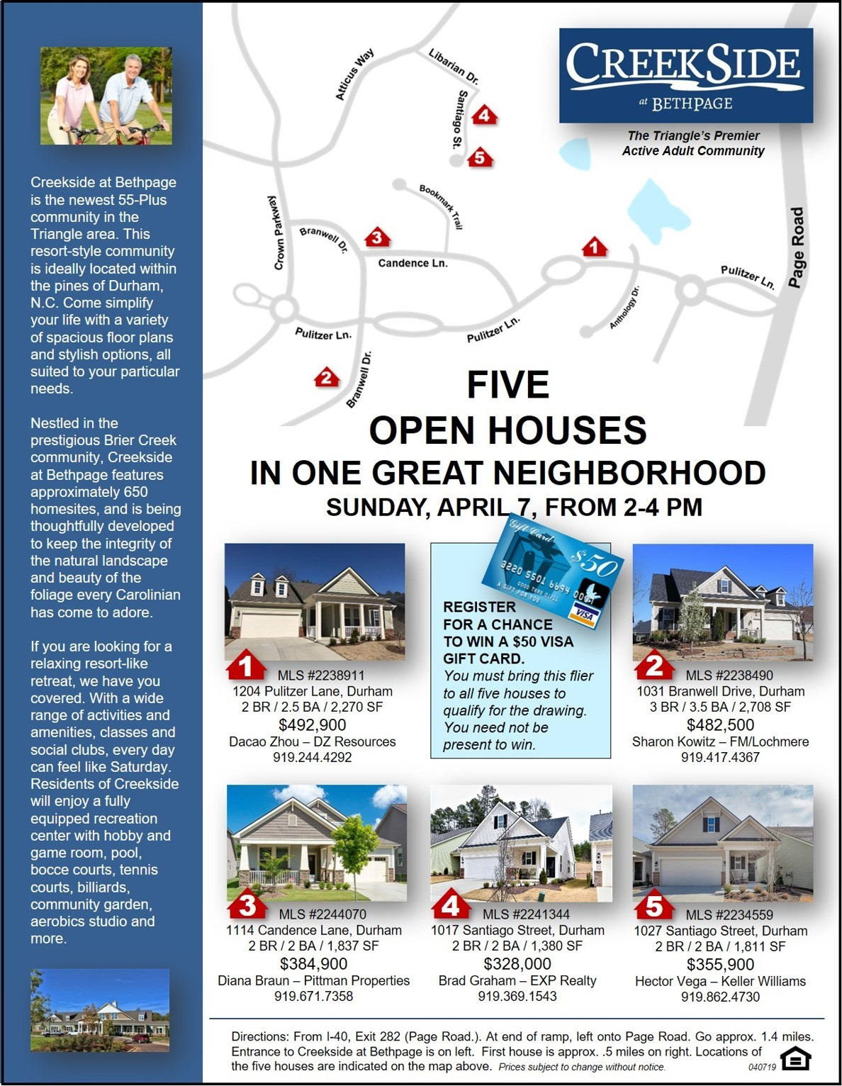 Creekside at Bethpage Community Open House