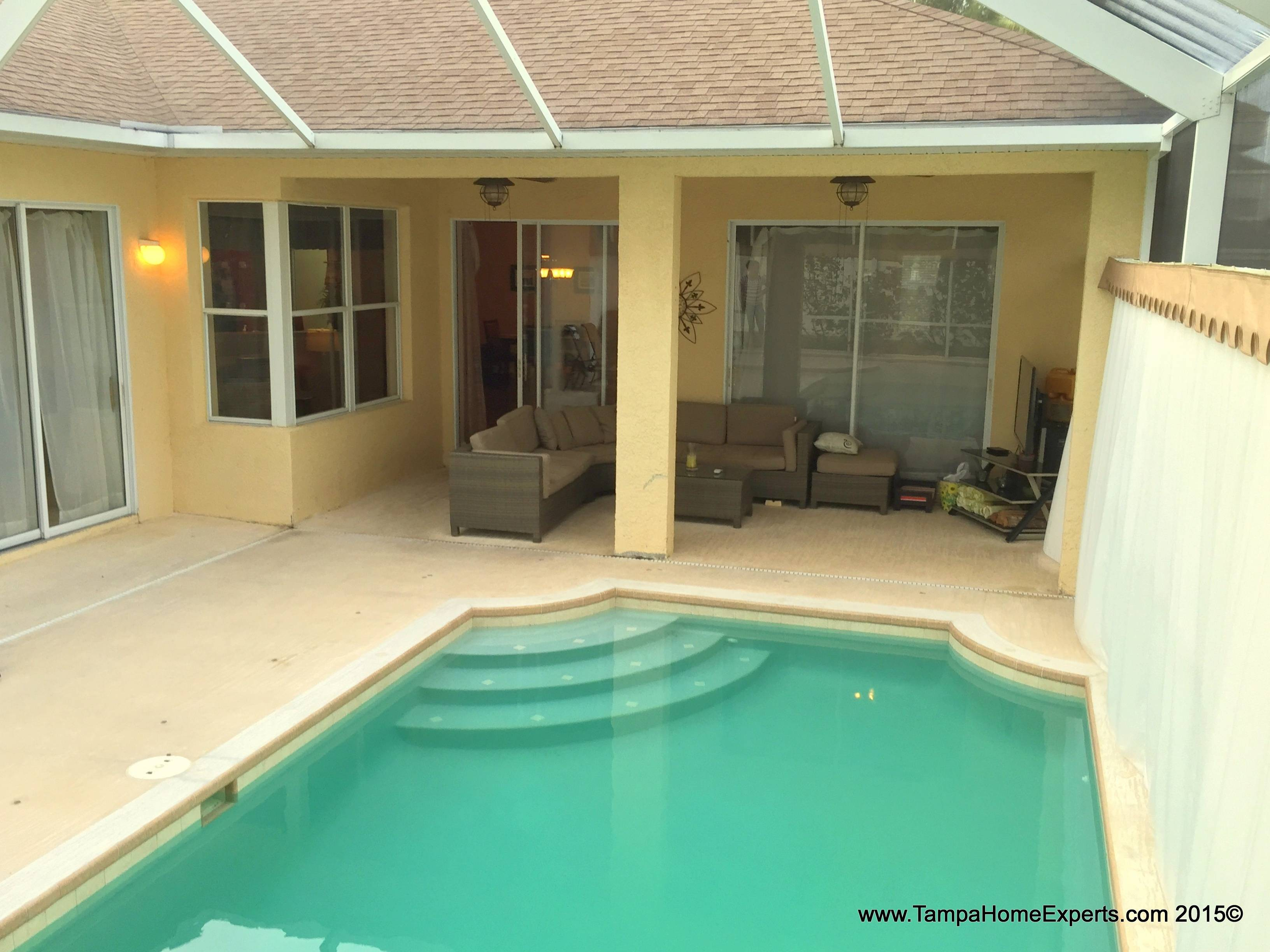 wesley chapel pool homes