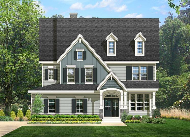 Saybrook homes 39 new craftsman model in founders pointe - Model homes near me ...