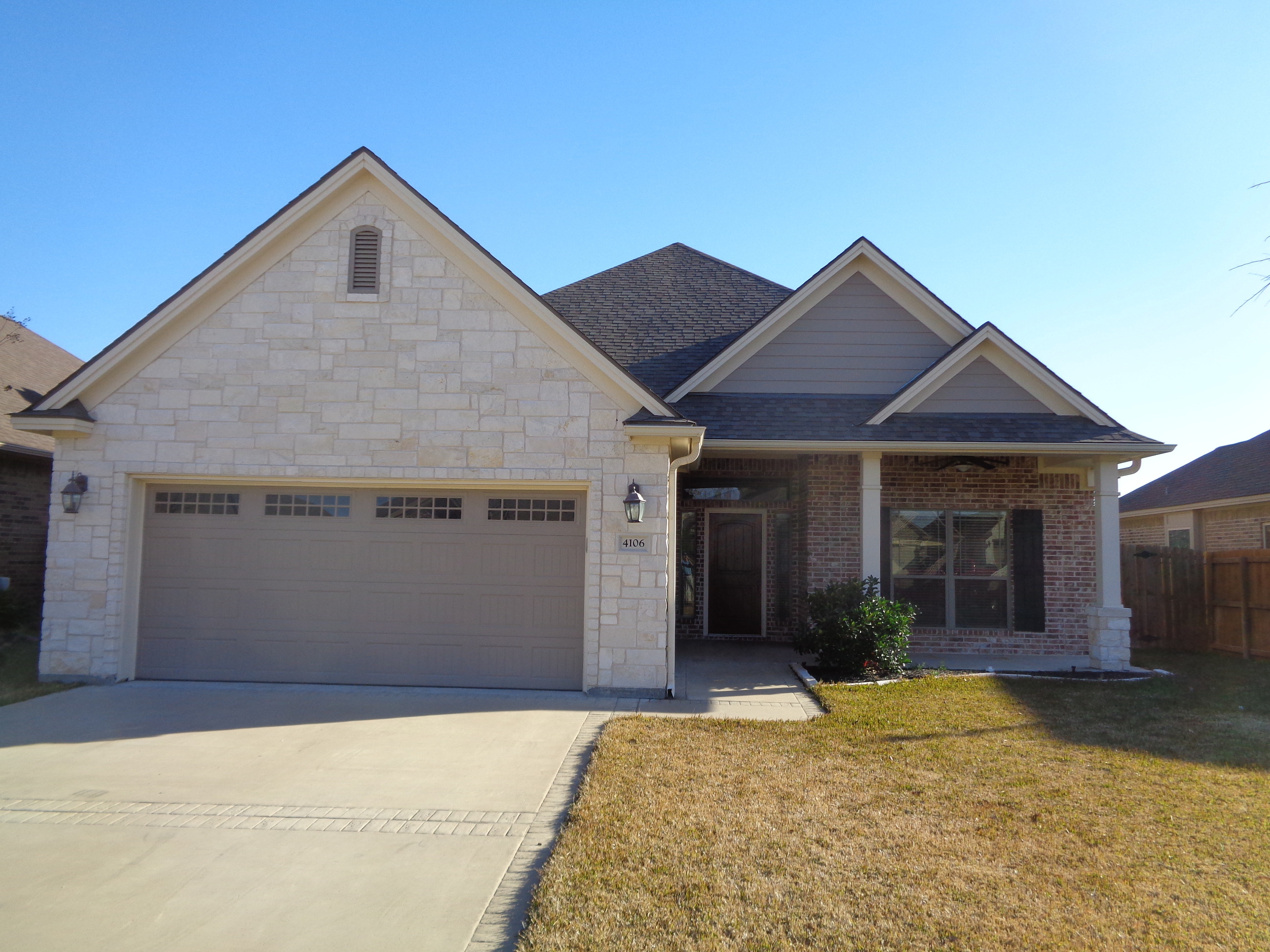 Great College Station Home For Lease 2150