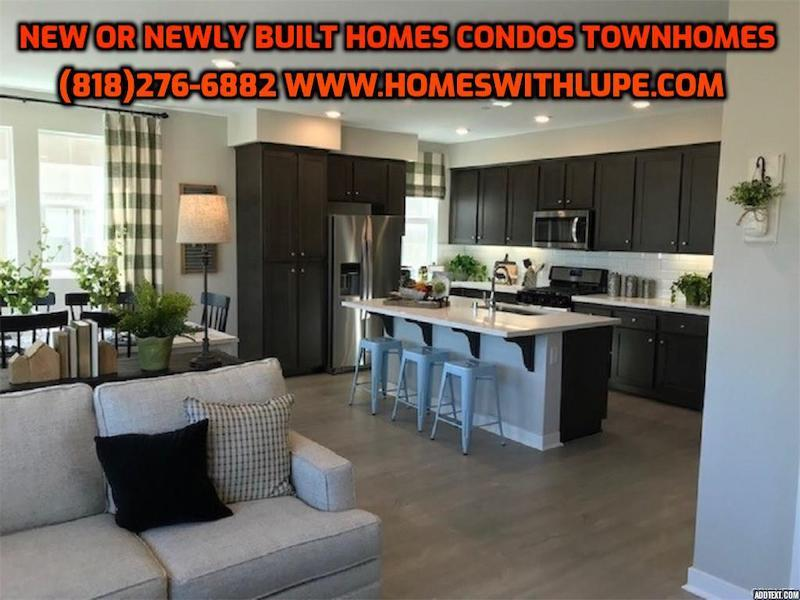 New or Newly built CONDOS TOWNHOMES