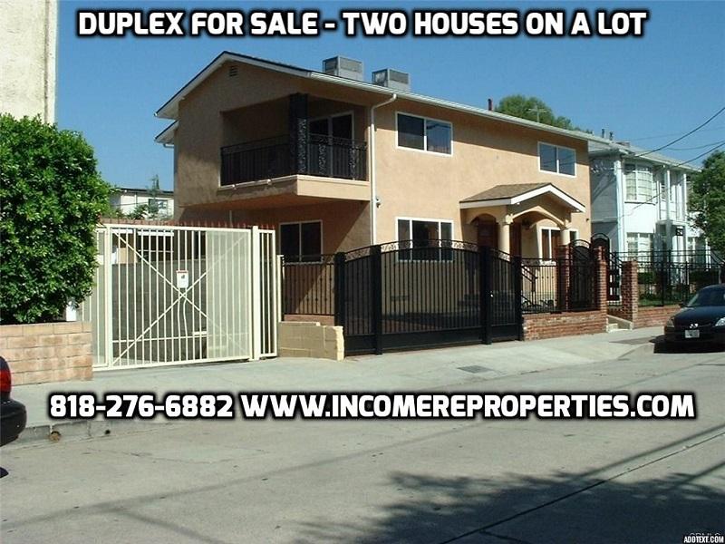 Burbank Fourplex For Sale 4 Units Multi Family In San F