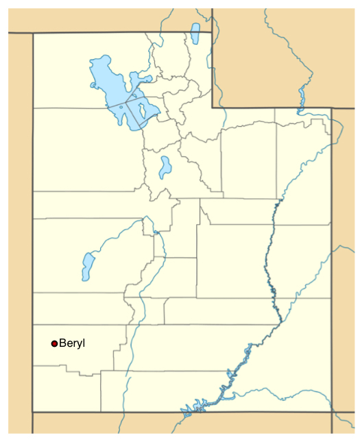 Beryl Utah Map.Beryl Utah Is The Place To Be 4 30 Acres For Only 57