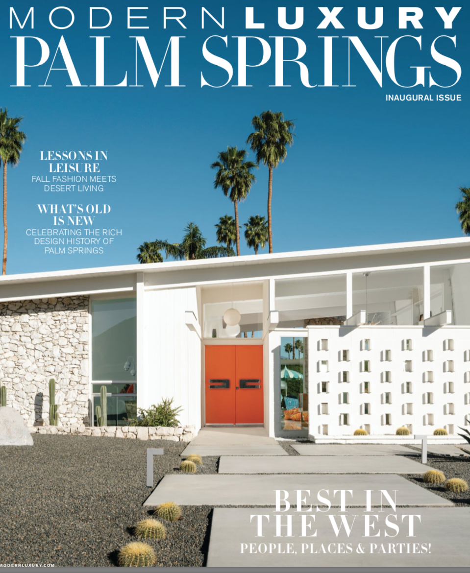 Modern Luxury Palm Springs Power Players 2019