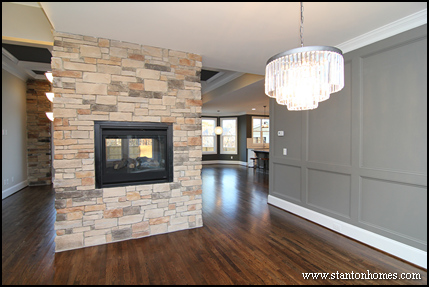 2014 Fireplace Design Ideas | Photos of Double Sided Fireplaces
