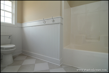 Walls with Wainscoting | Custom Home Trends in Raleigh NC
