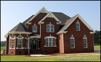 Phenomenal Two Story Brick Home Plans House Design Ideas Largest Home Design Picture Inspirations Pitcheantrous