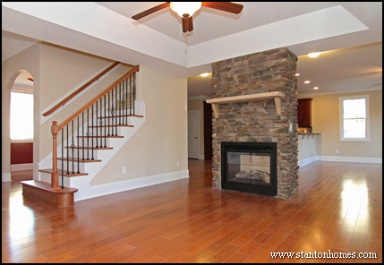 2014 fireplace design ideas photos of double sided for House plans with double sided fireplace