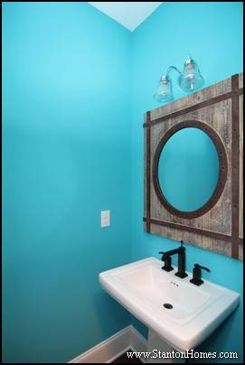 Framed Mirror Ideas | Raleigh Custom Homes